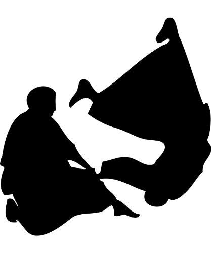 Kdomania Autoaufkleber Aikido