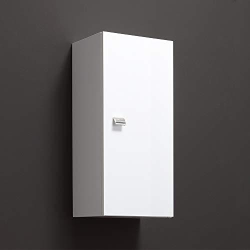 Pensile un'anta l.31,5 - h.71 cm bianco serie easy piccoli spazi