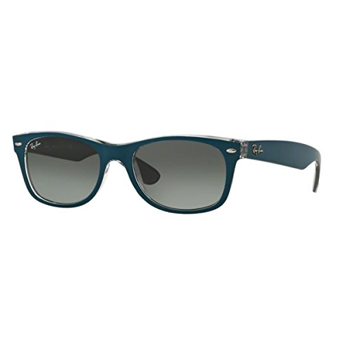 Ray Ban Herren Sonnenbrille New Wayfarer, Blue and Transparent, One Size ()