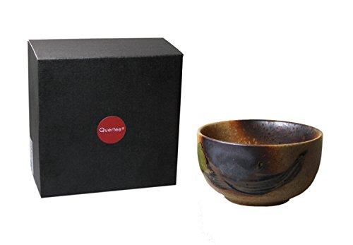 Quertee - Original japanische Matcha Schale - 400 ml in einer Geschenkbox