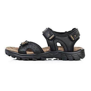 Herren Schuhe Sandalen Schuhe aus Leder weitere Farben Schwarz