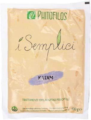 PHITOFILOS - I Semplici - Katam - Baby Indigo Colorazione Naturale Capelli Castano Cioccolato Mogano Scuro 100 gr