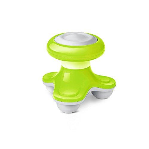 Massager Mini-Massager Massagegerät USB-Massager Sanfte Vibrationsmassage für Körper Rücken Kopf Hals leicht Klein und handlich (grün) (Körper, Rücken-massagegerät)