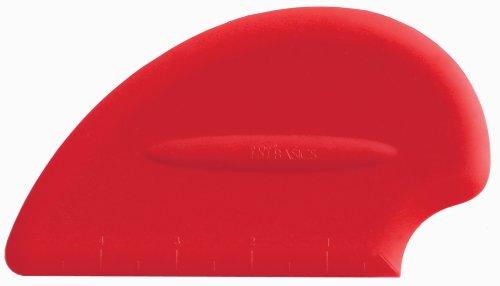 iSi North America B10001 Silicone Scraper Spatula, Red by iSi North America