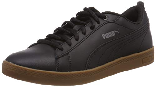Puma Damen Smash WNS V2 L Sneaker, Schwarz (Puma Black-Dark Shadow-Gum), 39 EU - Black Dark Shadow