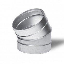 Raccord - Angle métal 30° 200mm - Winflex ventilation