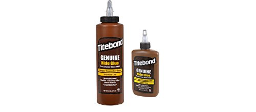 Holzleim - Titebond Liquid Hide Kleber 473 ml, 237ml - Ca Titebond