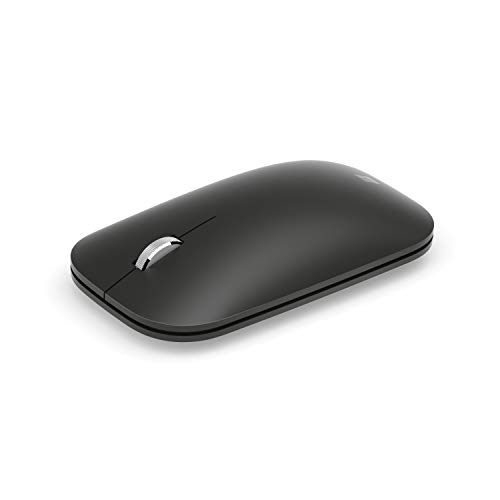 Microsoft Modern Mobile - ratón (ambidextro, Bluetooth y USB) Negro.