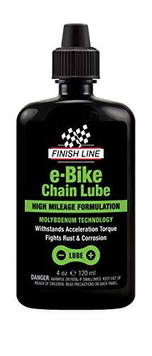 Finish Line E-Bike Kettenöl 120ml Spritzflasche Pflegen + Warten, Mehrfarbig, One Size