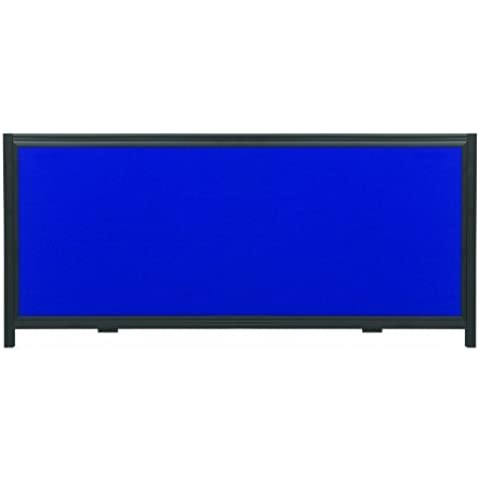 Quartet Show-It! Exhibition Display System Header Panel, 2 Feet by 10 Inches, Blue and Gray (SB93501Q) by Apollo - 2 Header