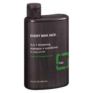 Every Man Jack 2-in-1 Thickening Shampoo Tea Tree -- 13.5 fl oz by Every Man Jack