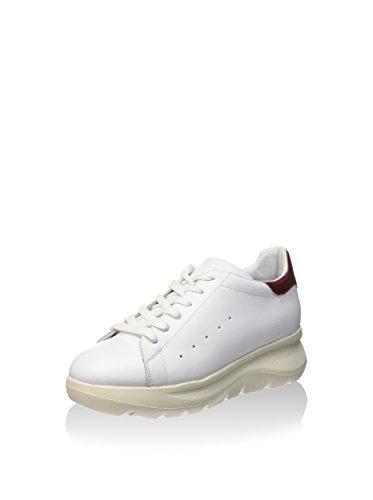 FORNARINA donna sneakers con piattaforma PEFVH9509WCA0900 Bianco