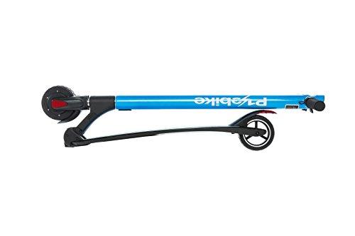 E-Scooter Klappbar Roller Scooter Elektroroller Carbon - Reichweite bis zu 40km 25 km/h P1 PowerOne (Blau) - 2