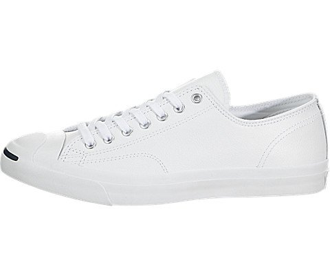Converse Unisex - Erwachsene Jck Pvrc Lea Ox Sneaker, weiß 40 EU - Converse Jack Purcell Damen
