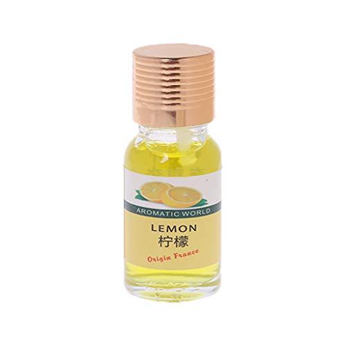 Indoor-ersatz (10 ml Auto Parfüm Nachfüll-Lufterfrischer Multiaroma Flüssigkeit ätherisches Öl Duft Ersatz für Autos Indoor Geruch Entferner gelb)