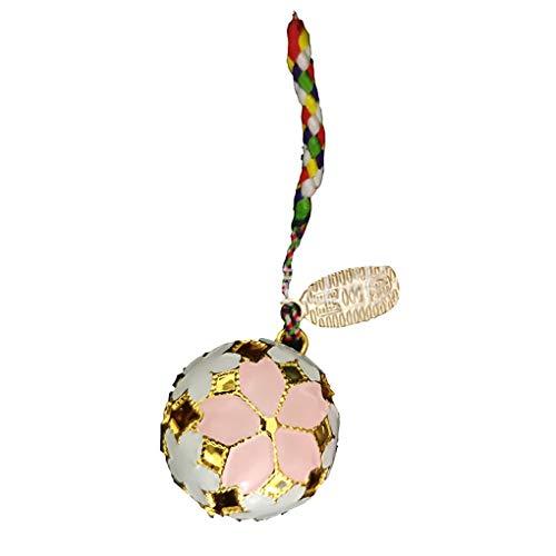 Nowear Japanischer Tempel Hohle Jingle Bell-Loses Korn-glückliches Festival Keychain Anhänger Dekor-Geschenk Pet Glocke Süßes Geschenk