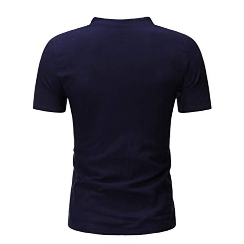UINGKID Herren Jogginganzug Trainingsanzug Overall Jumpsuit Shirt Hose Fitness Sommer Mode Lässig Bequeme Baumwolle Leinen Kurzarm Shorts Anzug (Halloween-dress-code Für Männer)