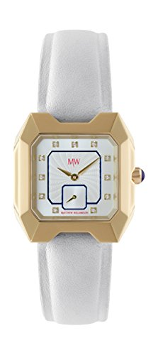 Matthew Williamson Damenuhr Analog Quarz mit Lederarmband MWAS002/06
