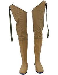FLAMEER Stivali Pantaloni Da Pesca Trampolieri Calzatura Lunga Industria e  Edilizia per Laboratorio Abiti Acqua a1336e99ee7