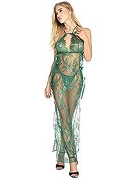 LADY MOON Lencería Mujer Erotica Largo Ropa Interior Mujer Sexy Conjuntos Camison Sexy Mujer Babydoll Lingerie