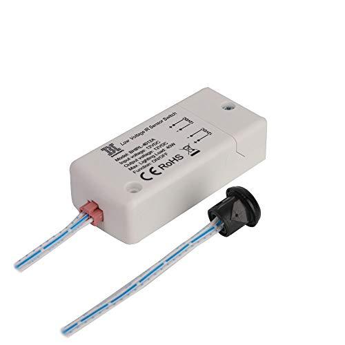 Infrarot Sensor Wechseln DC 12V-HoneyFly BHIRL-4012A 40W LED Bewegungsmelder Schalten Lichtschalter 5-8cm hand welle für led leuchten -