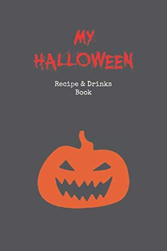 Zombie Kind Prop - Halloween Recipe Book: Blank Cook Book