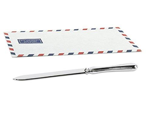 EDZARD Brieföffner Faden, edel versilbert, Länge 20 cm
