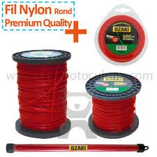 Price comparison product image Nylon Round Wire 15 Metres Diam 1.3 mm – Ozaki