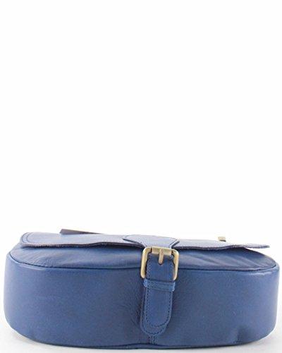 histoireDaccessoires - Borsa a tracolla Pelle Donna - SA142123RO-Suzy Blu reale