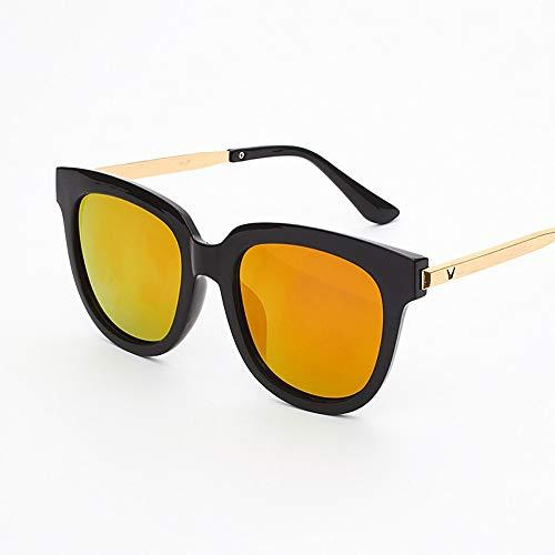 MINGMOU Sonnenbrillen Koreanische Marke Sonnenbrille Neue Froschspiegel Für Männer Und Frauen Uv-Schutz, 4
