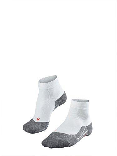 FALKE Damen Socken RU4 Short Weiß (White), 35-36