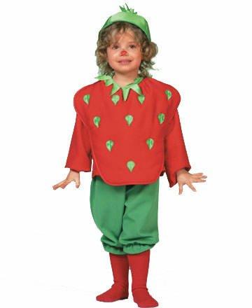 Kleinkind Kostüm Erdbeere Gr. 98 3428 (Für Kleinkinder Erdbeer-kostüme)