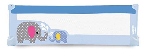 Asalvo–Barrera de cama 150x 43,5cm azul azul