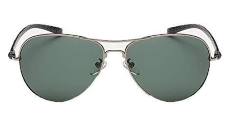 Deaman Unisex Brille Polarisierte Sonnenbrille Farbige Spiegel Anti UV Metall Brillengestell Brillen Frauen Winddicht Spiegel