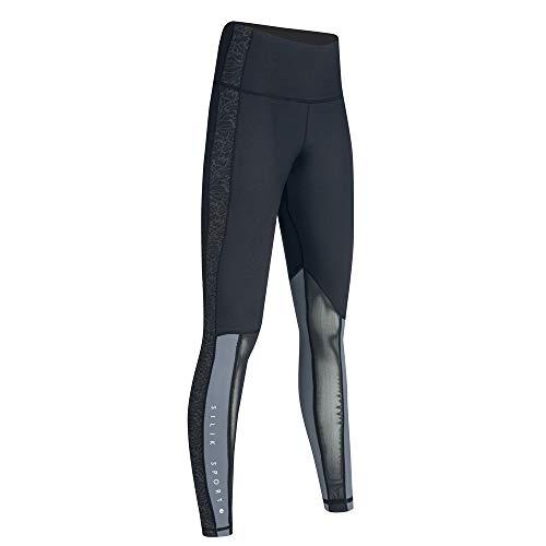 SILIK Womens Sports Running Workout Athletic Leggings