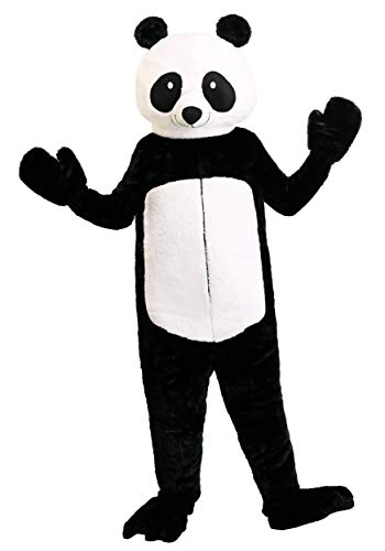 Plus Size Adult's Panda Bear Fancy Dress Costume 2X