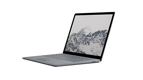 Microsoft 34,29 cm (13,5 Zoll) Surface Laptop (Intel Core i5, 128GB Festplatte, 4GB RAM, Intel HD Graphics 620, Win 10 S) Platin Grau