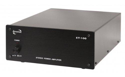 Dynavox ET-100 Stereoendstufe schwarz
