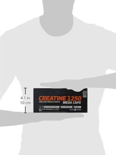 Olimp Labs Creatine 1250 Mega Capsules, 120 Capsules