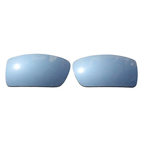 COODY Polarisierte Ersatzgläser für Oakley Herren OO9014 Gascan Sonnenbrille (Titanium Mirror)