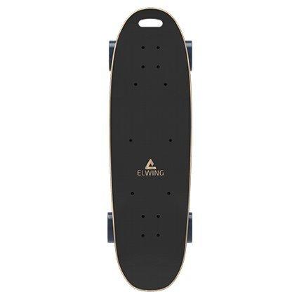 Elwing E1500 Longboard électrique Mixte Adulte, Noir