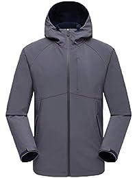 PengGengA Unisex Mantener Caliente Jacke Traje De Esqui Crew Midlayer Chaqueta Chaquetas Impermeable Mujer Hombre