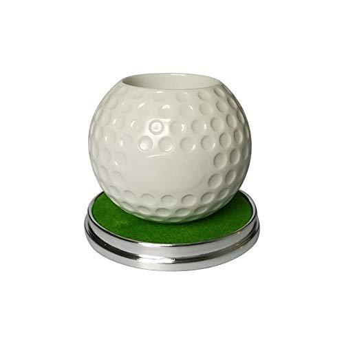 olf Stifthalter Mini Desktop Golf Souvenir Set Golf Geschenk Golftasche Clubs Set multifunktions Stifthalter Golf Dekoration Zubehör, gelb, langlebigPraktisch ()
