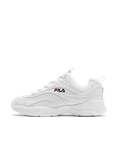 Fila Damen Ray Low WMN 1010562-1FG Sneaker, Weiß (White, 38 EU