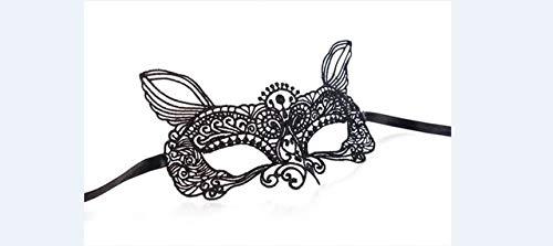 AMSIXP Maske 1pcs Schwarz Frauen Sexy Spitze Auge Party Masken Für Maskerade Halloween Kostüme Maske 11 - Machen Sie Ein Genie Kostüm