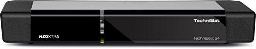Technisat TECHNIBOX S4 / HD Sat-Receiver mit PVR-Aufnahmefunktion, HDTV, UPnP-Livestreaming, Ethernet, schwarz
