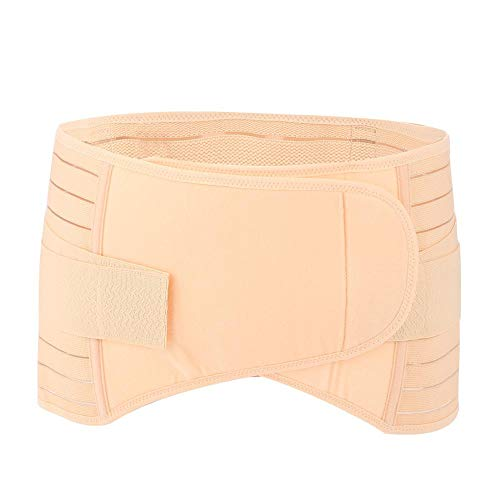 ToppinCN Bauchgürtel, für die Postpartale Bauch, Prothetik, Kaiserschnitt, universeller Gürtel, mütterliche Passform, Körperformung, stärkt Zurückhaltungsgürtel, Hautton Large
