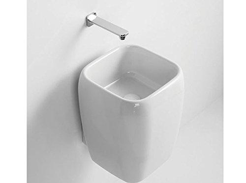 Waschbecken suspendiert Himmel Shui Waschtisch halbe Spalte Shlas (Halbe Spalte)