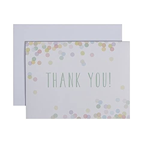 C.R. Gibson, Vera Boxed Thank You Notes, Wild Blossoms (CT6–10142)