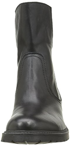 Buffalo London 8036 Antique, Stivali da Motociclista Donna Nero (Black 01)